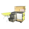48-Workstation-with-3-Drawers,-Table-and-Refrigerator-(11-colors-available) -- MW-48R