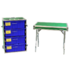 Ebola-PPE-100 -- 4-DRAWER-w-table